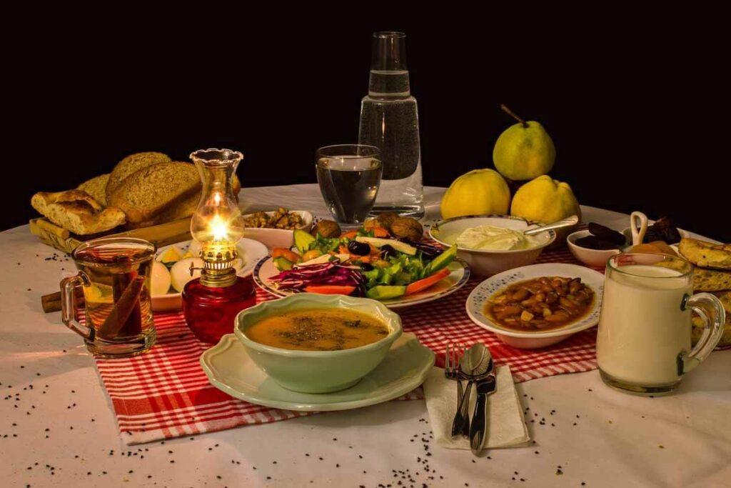 Feeding the elderly in Ramadan